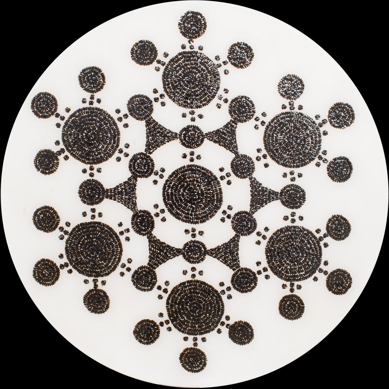 "Circle 5, 2014, 48"" x 48"""